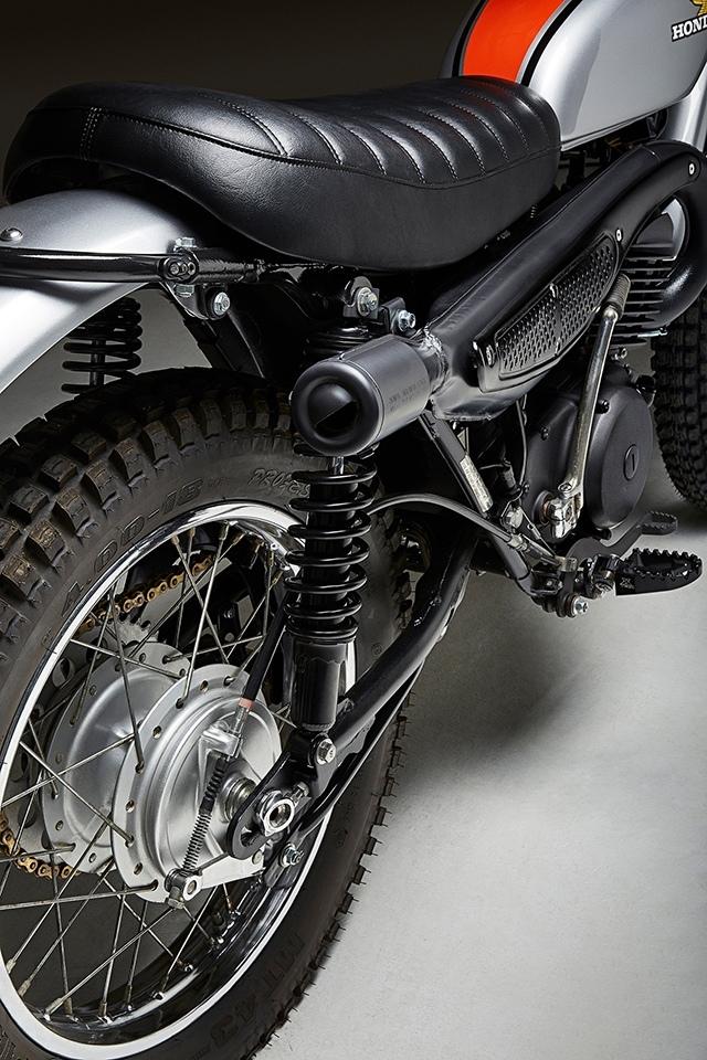 Fossick Moto: кастом Honda MT250 Elsinore