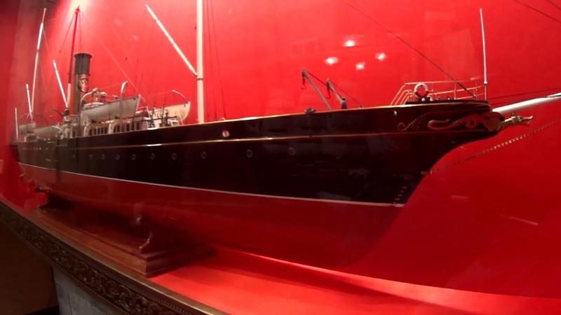 Модель яхты Колхида