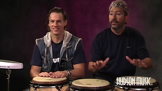 Thomas Lang & Luis Conte @ The Modern Drummer Festival 2006- Performance & Backstage Interview