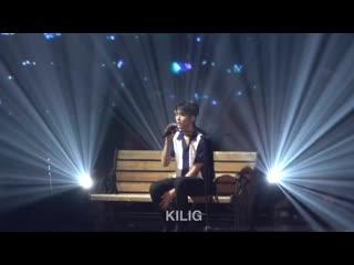 [fancam] 190810 роун - sunny day summer nights (sam kim) solo stage @ unixerse in seoul