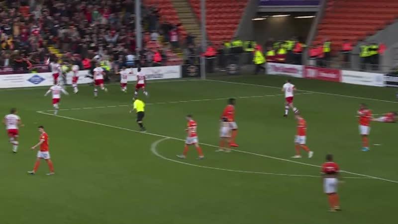 Блэкпул 1-2 Ротерхэм Юнайтед Лига 1 2019/20. 13 тур