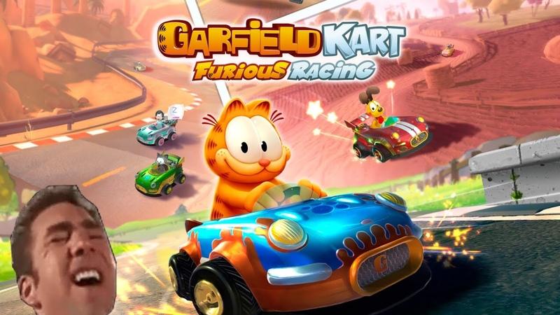Garfield Kart Furious Racing Доброзор