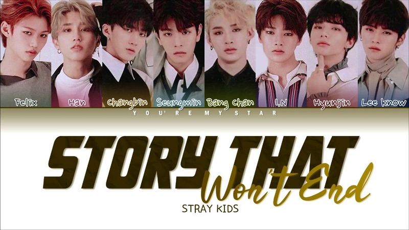 Stray Kids - Story that won't end (Extraordinary You OST) - Color Coded Lyrics (Han/Rom/Eng)