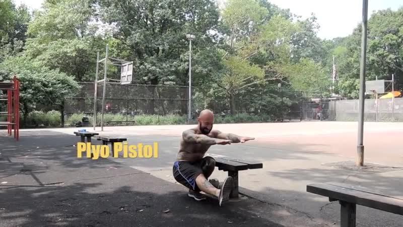 Plyo pistol