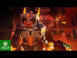 Minecraft Dungeons  Трейлер к выходу игры