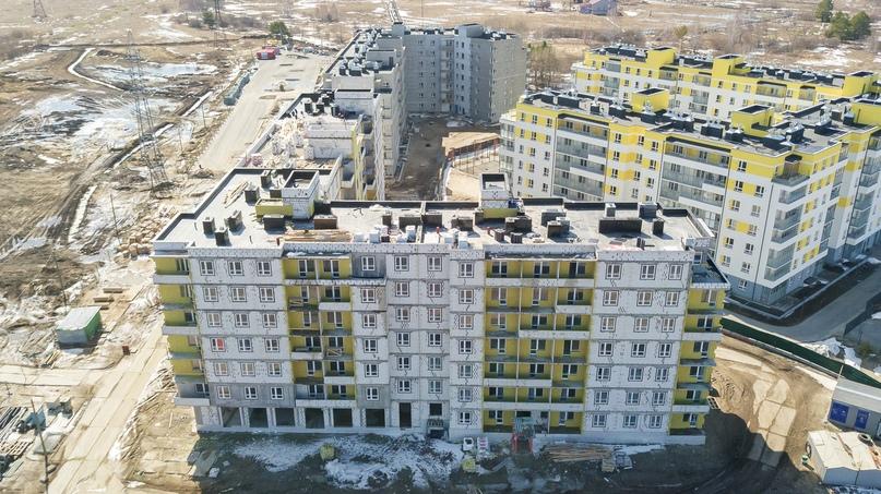 Отчет о ходе строительства апрель 2020 ЖК «Апрель», изображение №1