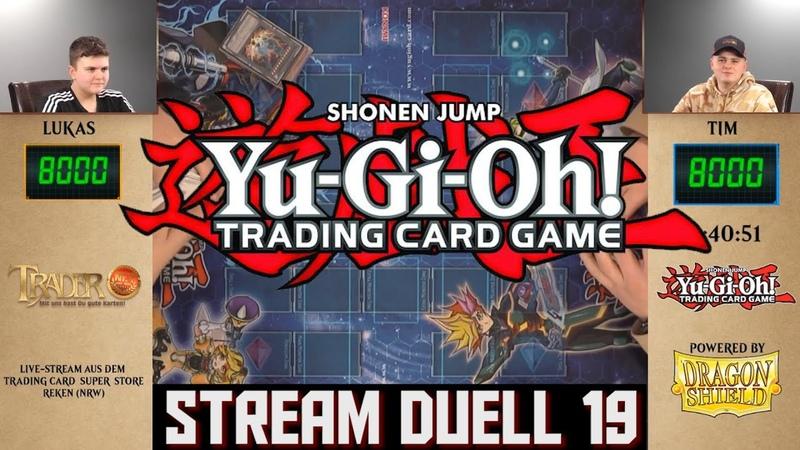 YuGiOh Duell 19 deutsch OTS Twitch Stream Trader Trading Card Super Store TCG Duel YGO Match 2020