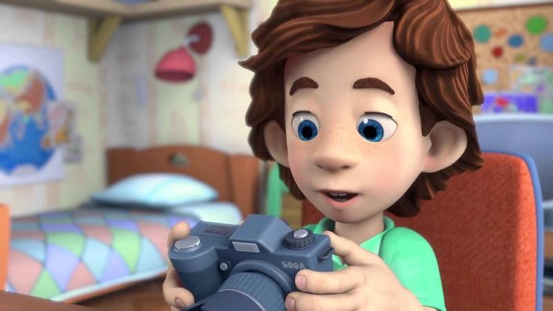 Фиксики Фотоаппарат Познавательные мультики для детей школьников