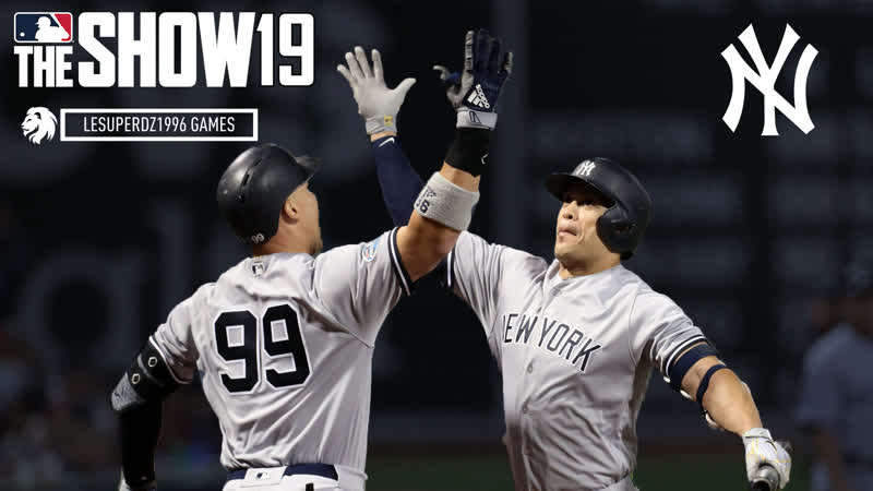 MLB The Show 19 New York Yankees Franchise 18 ПЕРВАЯ ИГРА ПРОТИВ WHITE SOX