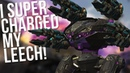 War Robots - Leech With Super Charged Scourge INSANE Damage! | MK2 Performance Gameplay