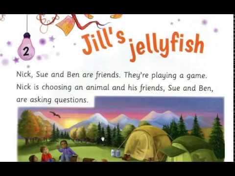 Story fun 2 2 Jill's jelly fish