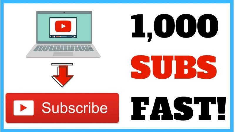 How to Promote Your New YouTube Channel Get 1K Subscribers FAST!