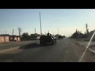 БТР-80 российской военной полиции в составе военной колонны на восточной окраине города Эль-Камышло Наемники | Military news |