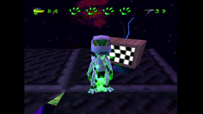Easter Egg discovered in Gex enter the Gecko 3D