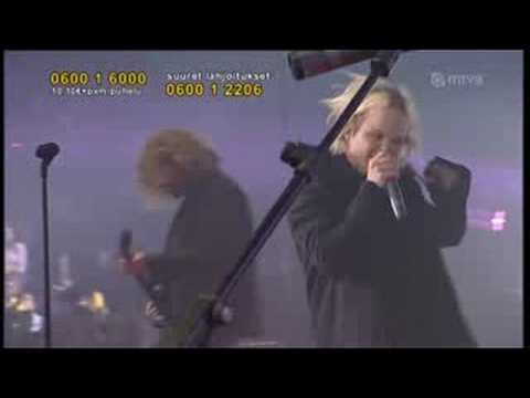 The Rasmus Livin' in a world without you live
