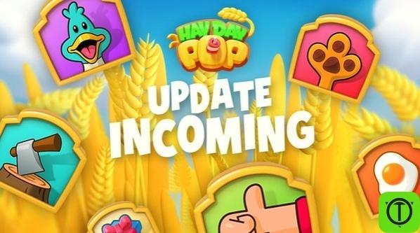 Обновление игры Hay Day Pop! Дата: 22/6/2020 Исправления