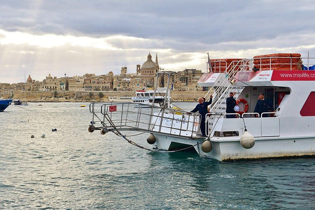 KjMGoAK5xKM Валлетта - столицы Мальты.