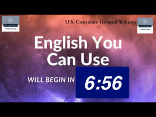 English You Can Use Lesson No. 11