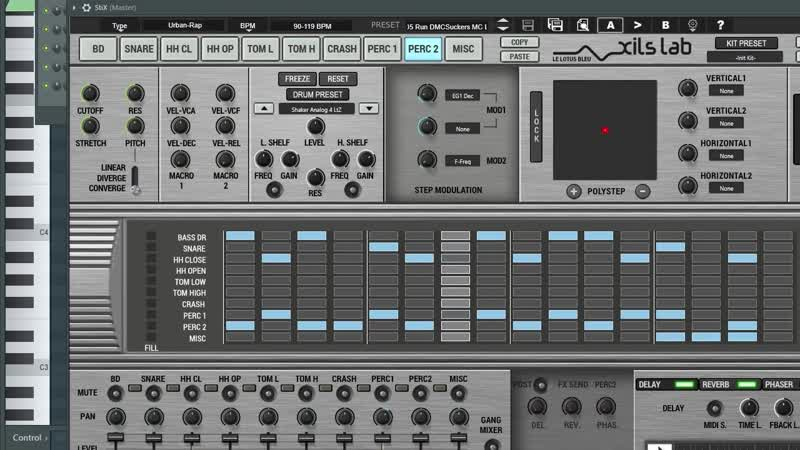 тест Xils Lab StiX Drum Machine