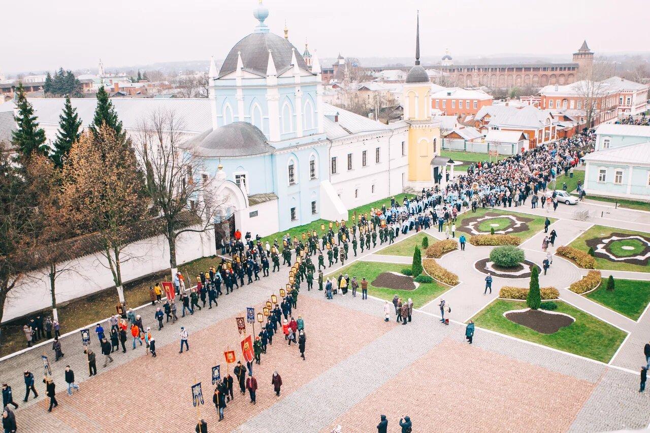 Городской крестный ход в Коломне