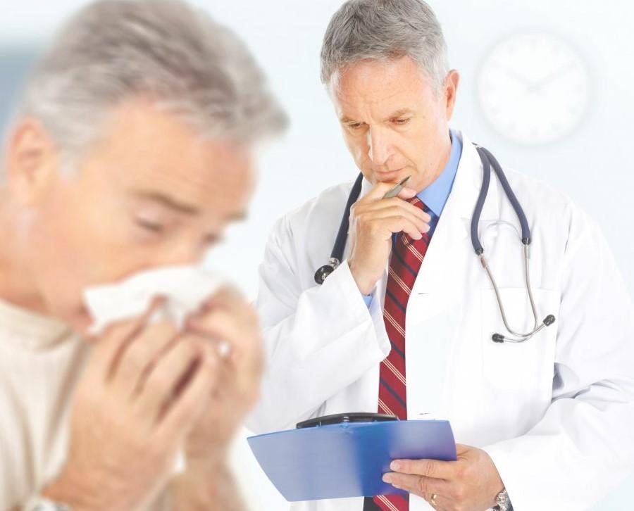 ЛОР-врач может специализироваться на аллергии.