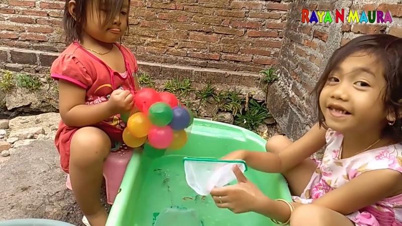 Tangkap Ikan Dan Bola Warna Warni Mainan Anak Catch the Fish and the Ball