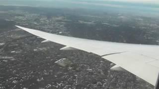 Norwegian Boeing 789 landing at New York JFK