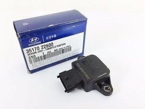 Hyundai Accent 2 DOHC SOHC Датчик положения дроссельной заслонки