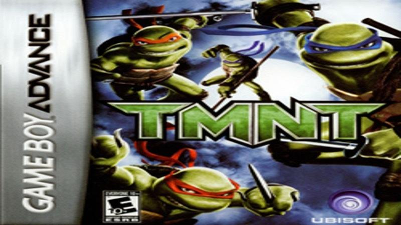 Вечерний Виктор ► Teenage Mutant Ninja Turtles Черепахи ► TMNT 2007 GBA Gameboy Advance