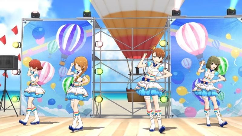 「アイドルマスター ミリオンライブ! シアターデイズ」ゲーム内楽曲『Bigバルーン◎』MV