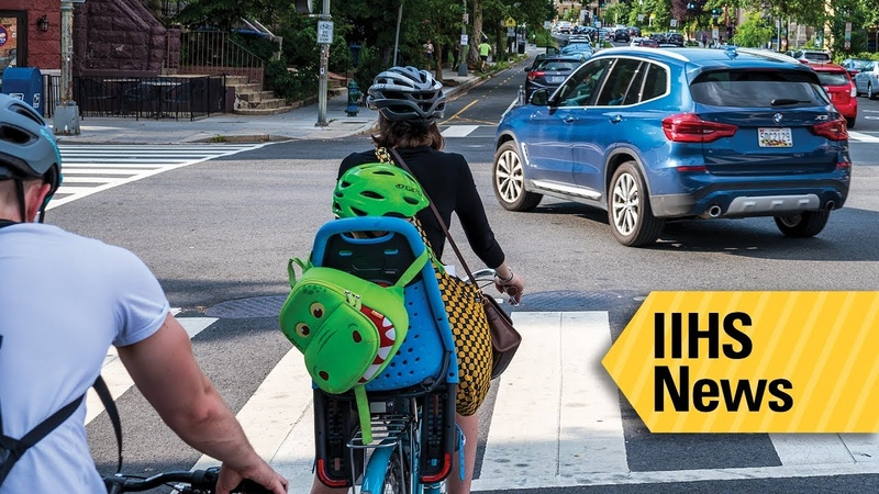 Bike lane design can leave cyclists at risk IIHS News