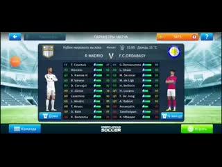 R Madrid ~ OrdabasyAllstar XI ~ Ordabasy