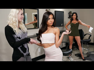 Ariella Ferrera & Vina Sky - Scissoring Rivalry ( г, Lesbian 1080p]