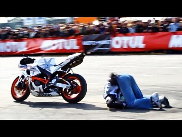 Epic Back Flip Crash