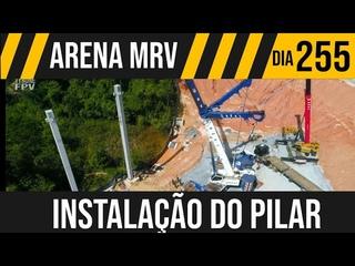 ARENA MRV 5/7 INSTALANDO SEGUNDO PILAR 29/12/2020