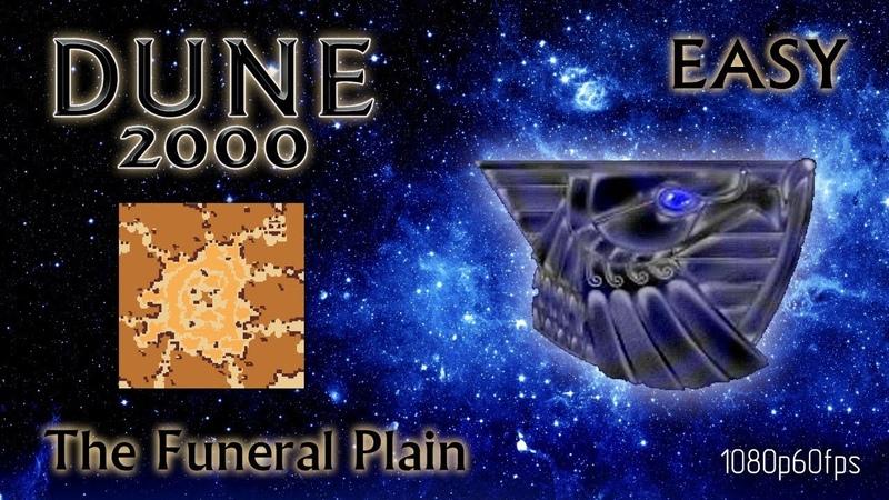 Dune 2000 Skirmish The Funeral Plain Atreides Easy 1080p60fps