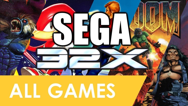 Every Sega 32X Game In One Video