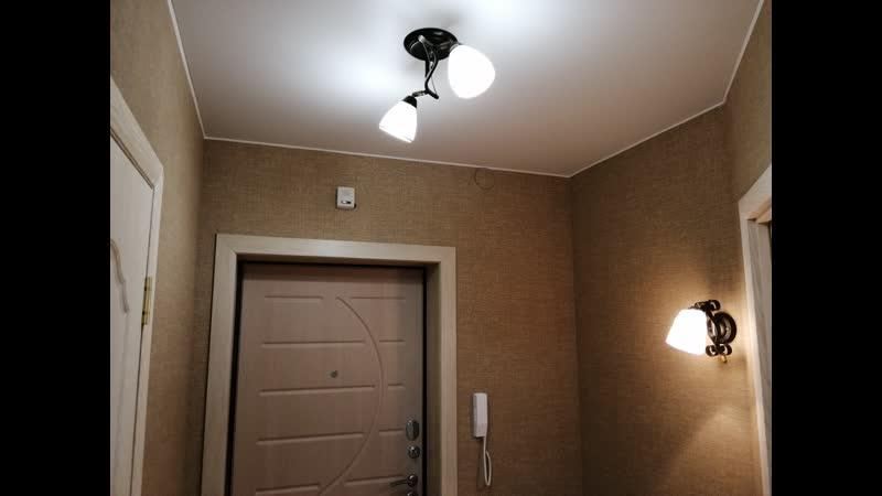 Ул. Карла Маркса. Выполнен комплексный ремонт класса Эконом 1-комнатной квартиры под ключ.