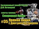 Прямая линия с Дмитрием Котвицким Котвицкий советы тренеру Подготовка бойца oyama mas