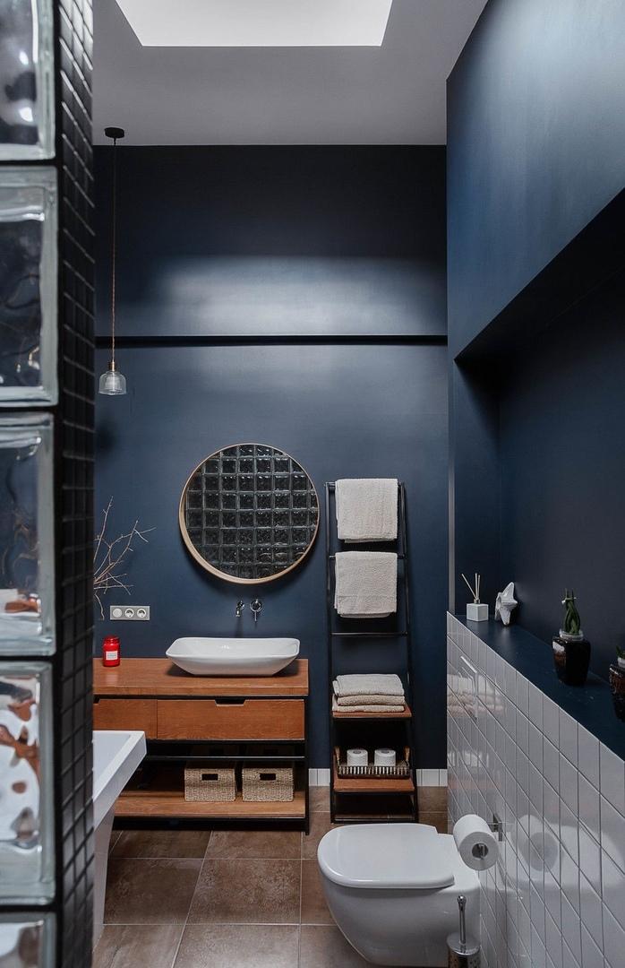 Квартира в мансарде 90 м² от дизайнера Ирины Райхер