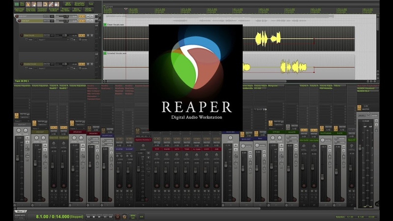 CHANGING TRACK LAYOUTS FAST IN REAPER