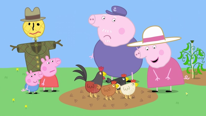 Peppa Pig English Full Episodes Granny Pig's Chickens Cartoon For Kids