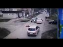 Момент ДТП в Алатыре Пьяный водитель сбил трех пешеходов