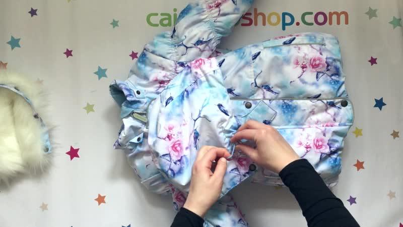 Зимняя куртка для девочек ASH Caimano^Зима 2019 20