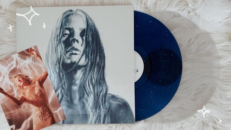 Ellie goulding - brightest blue (signed vinyl unboxing)
