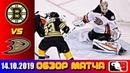14.10.2019 Бостон Брюинз - Анахайм Дакс | Boston Bruins vs Anaheim Ducks