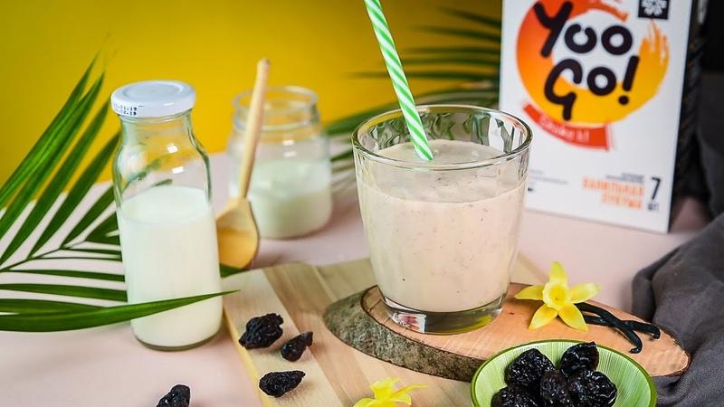 Правильное питание легкий экзодесерт из йогурта с черносливом