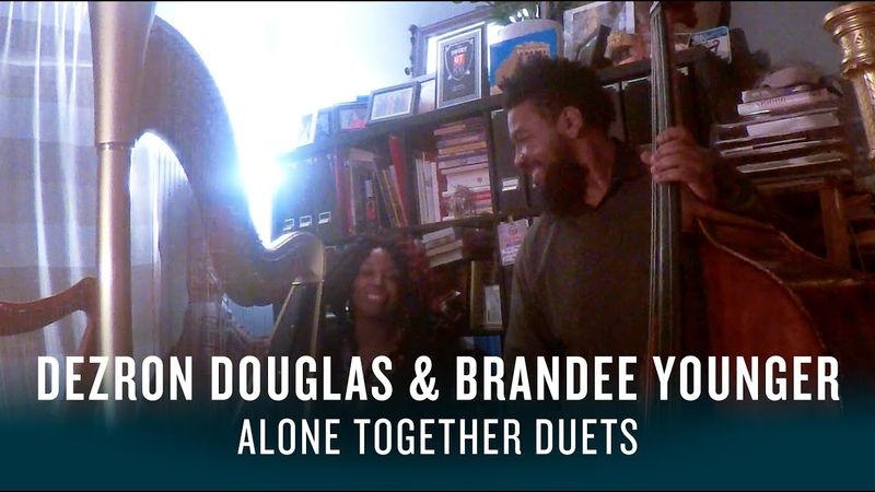 Dezron Douglas and Brandee Younger: Alone Together Duets | JAZZ NIGHT IN AMERICA