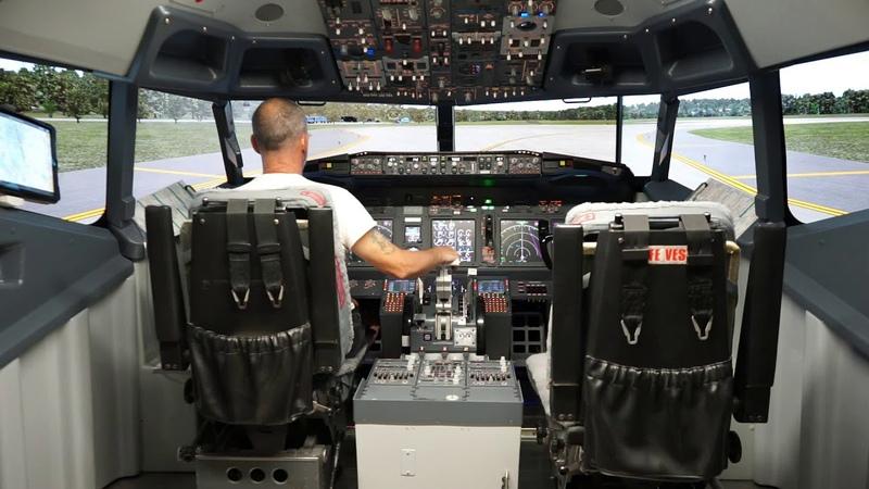 Flidedeck Solutions Xplane 11 Sim Avionics Zibo Mod KSEA KPDX
