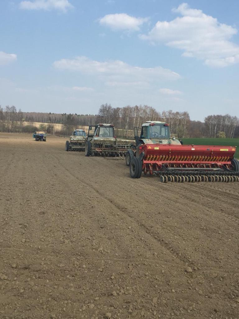 Сельхозтехника Агрохолдинга «Союза Маринс Групп» готова к выходу в поля